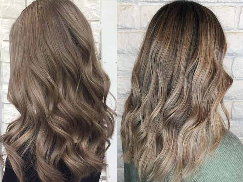 15 Cool ash brown hair color and highlights
