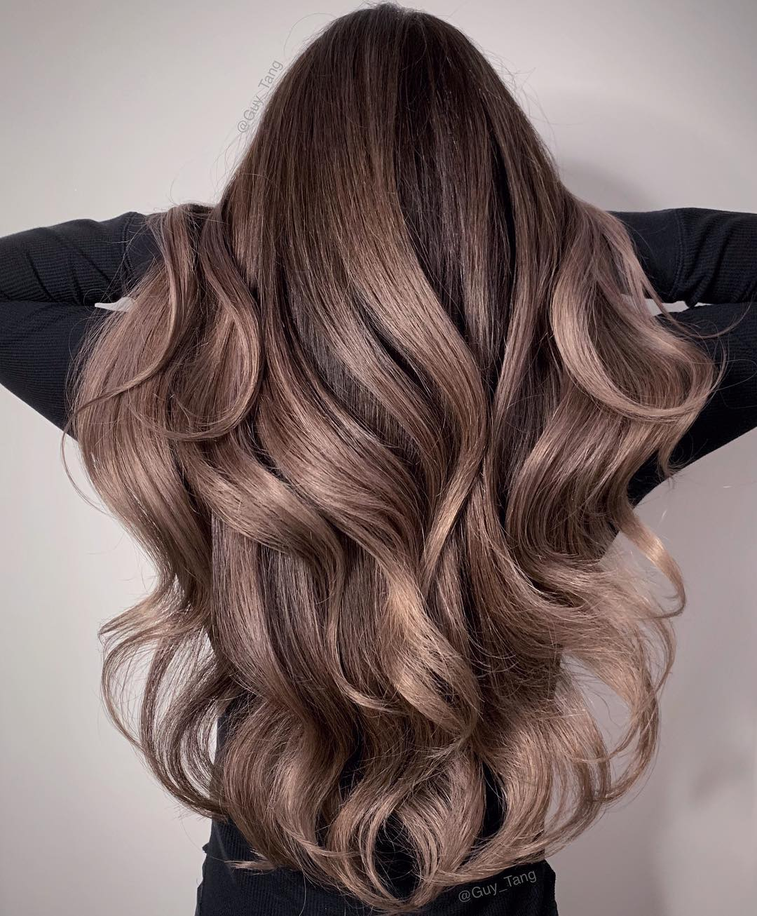 10+ Balayage brown hair color ideas and examples