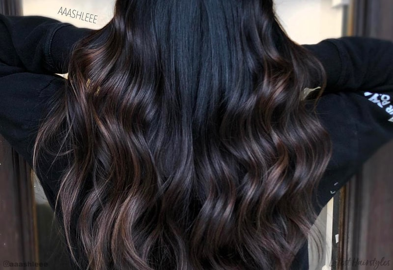 13 Trending Balayage on Black Hairs Ideas to inspire you
