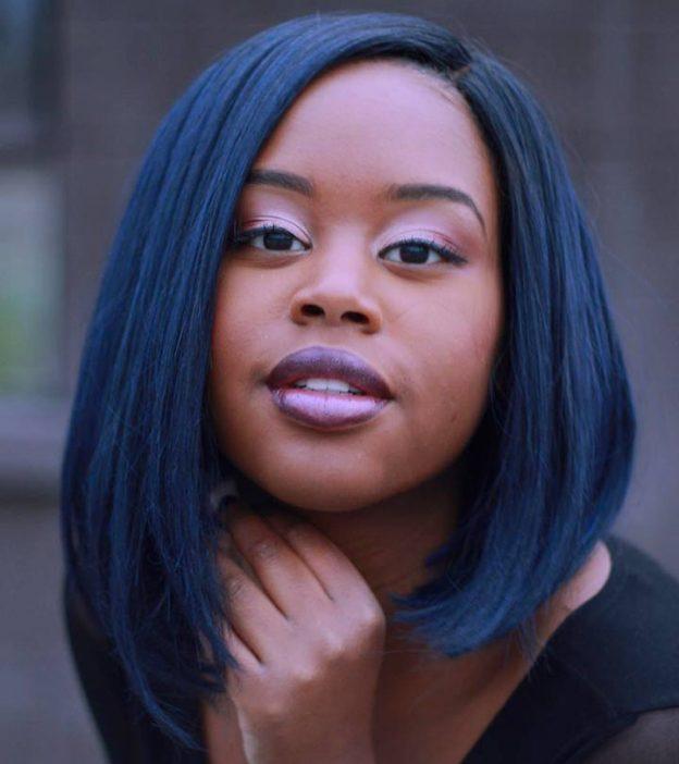 17 Popular Blue Black Hair Design Ideas