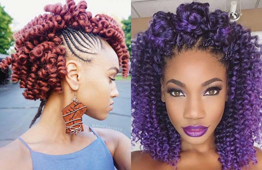 16 Beautiful Crochet Braids Hairstyles to Rock the World