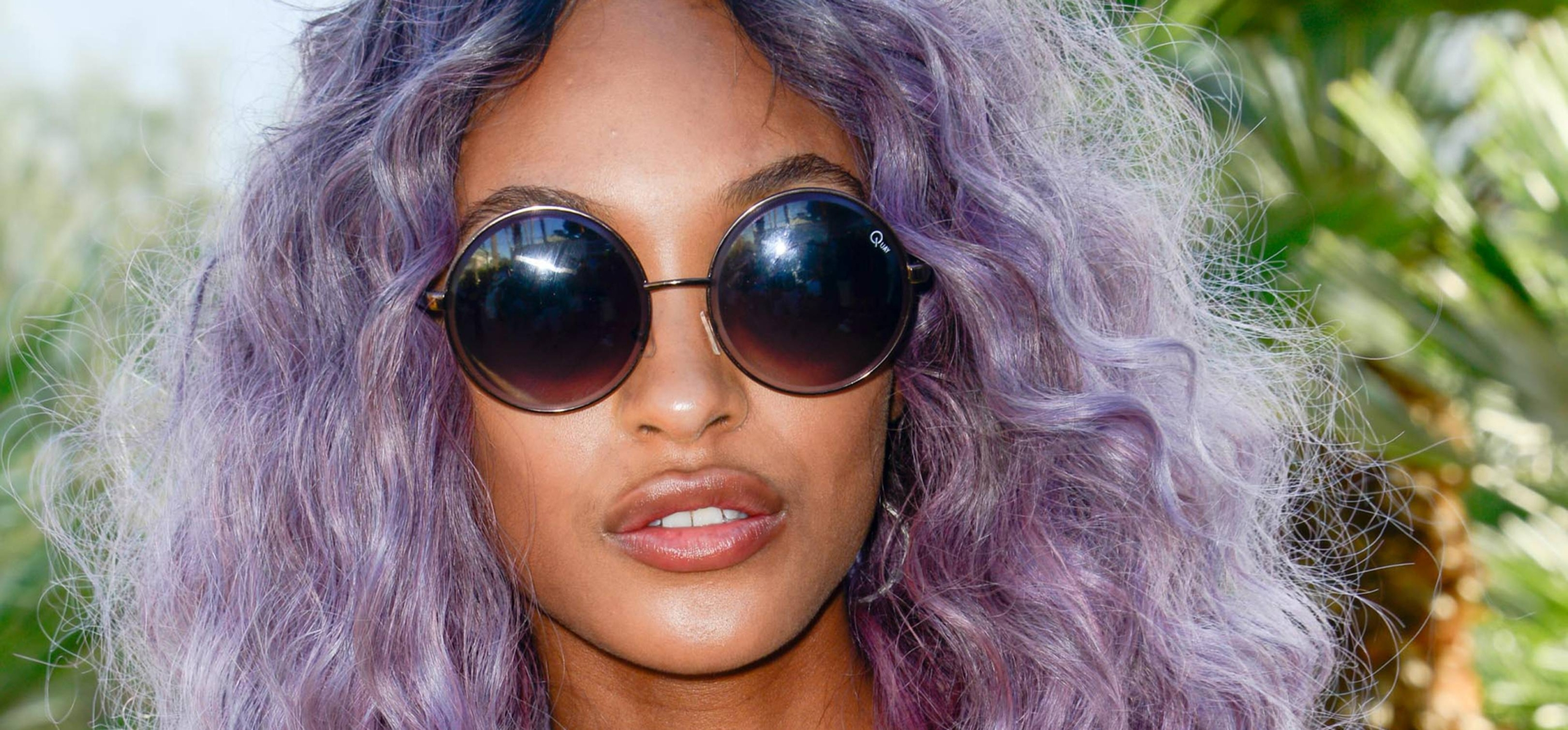 Get Most Attractive Look With Dark Purple Hairs Colour