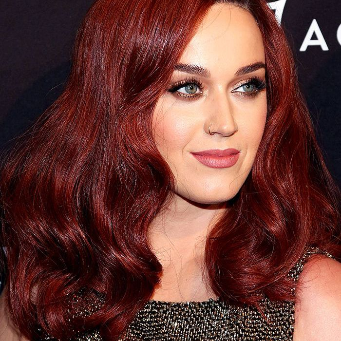 15+ Vivid Dark red hair Colors to try