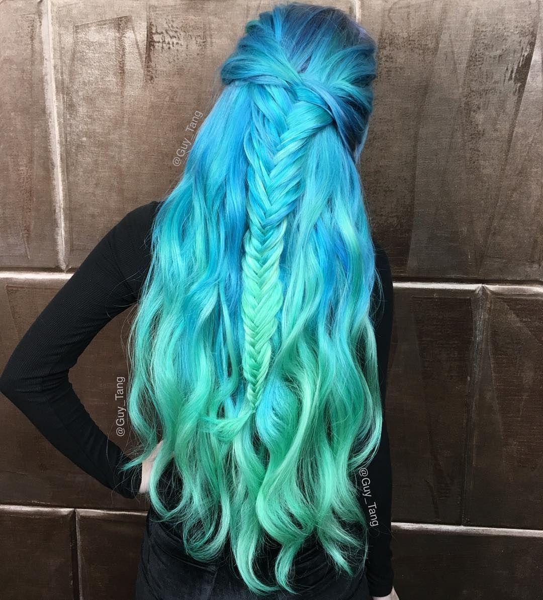 16 Colorful Mermaid Hair Ideas For Women Human Hair Exim