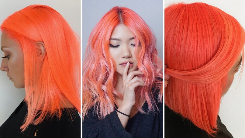 The Best Orange Hairs Color Design And Ideas