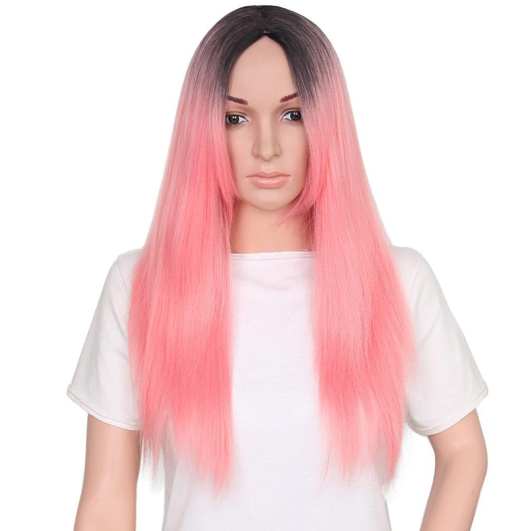 17 Pink Wig Designs with Ideas for Women
