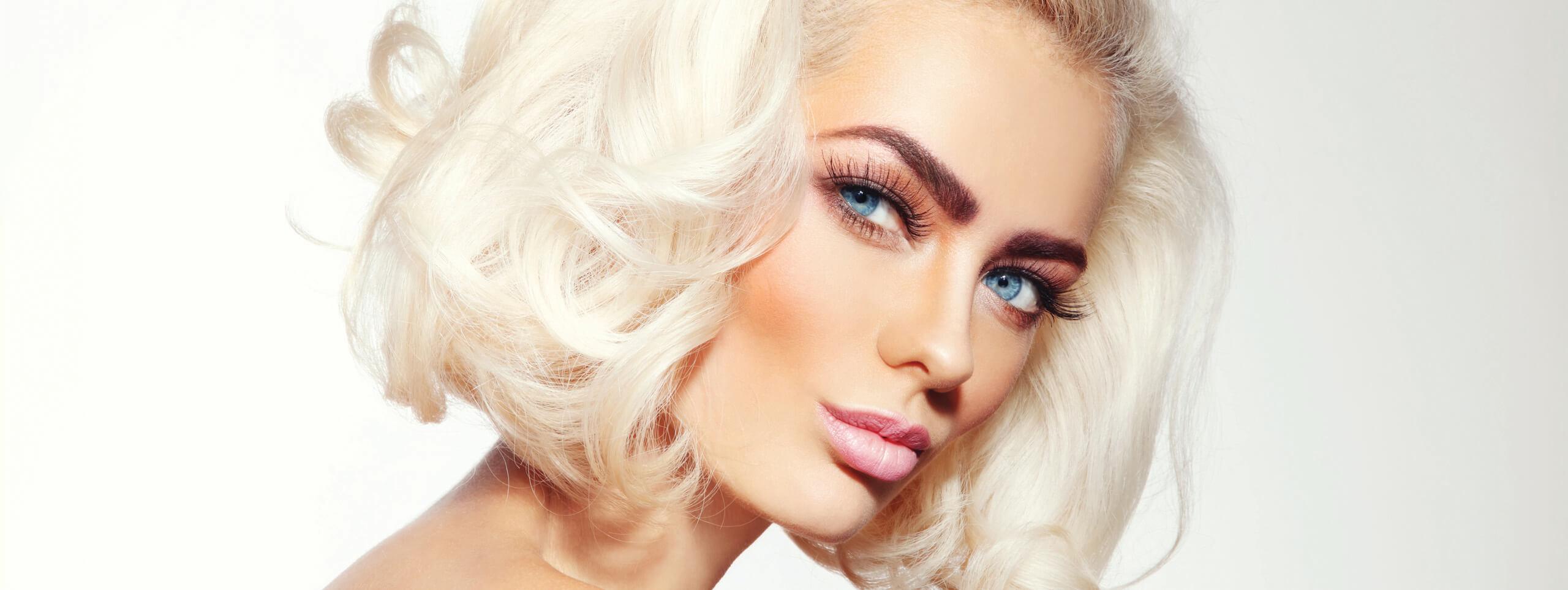 Beautiful Platinum Hair style ideas of Women