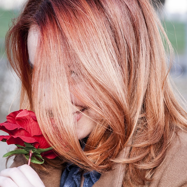 Top most rose gold hair dye shades and ideas