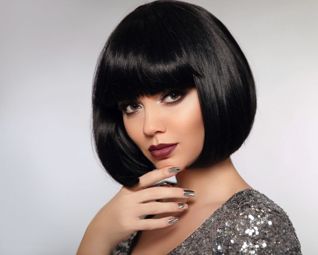 Beautiful Short Black Hair Design for Your Next Hairstyle