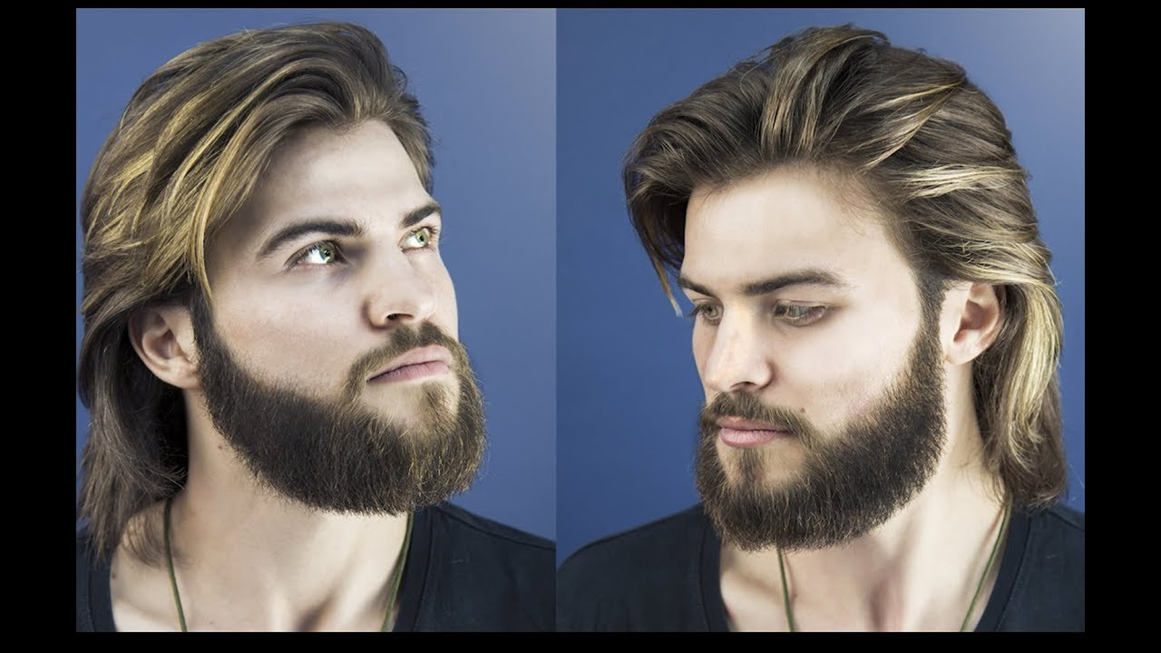 Ultimate Collection of Long Hair for men and hair care tips