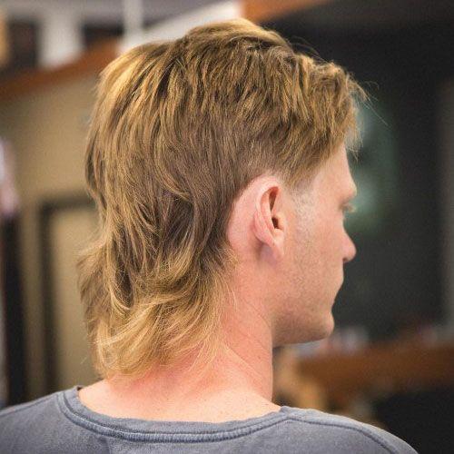 mullet-hair