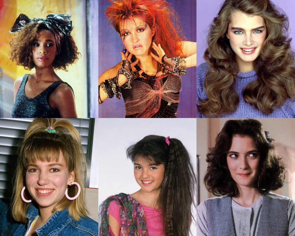30+ The Best Classic And Stylish 80's Hairstyles