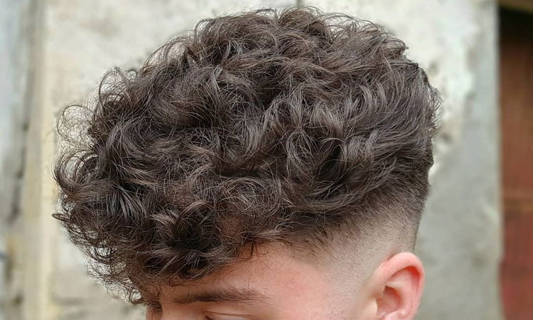 125 Boy exciting curly hairs, right care and types