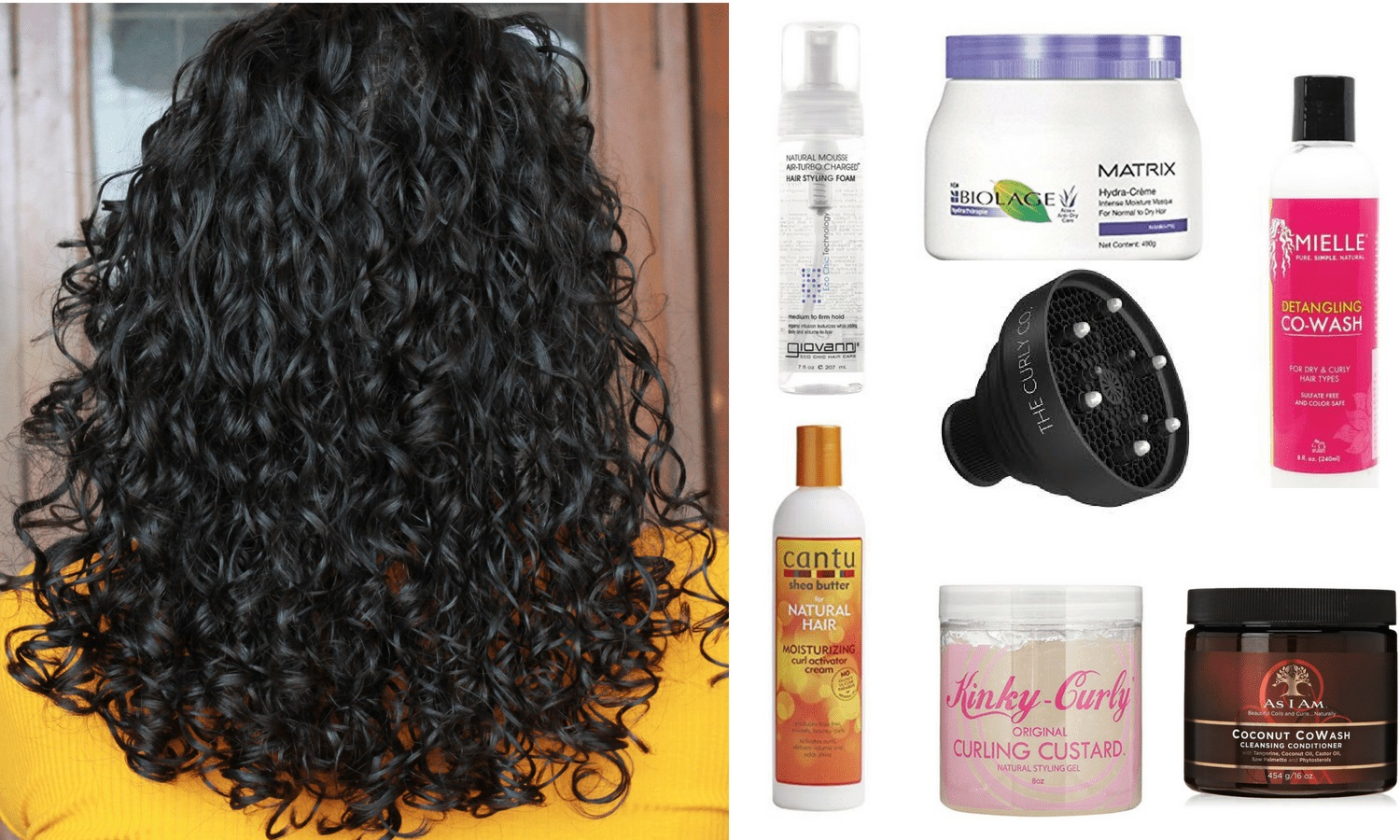 Choose The Right And Best Curly Hair Products