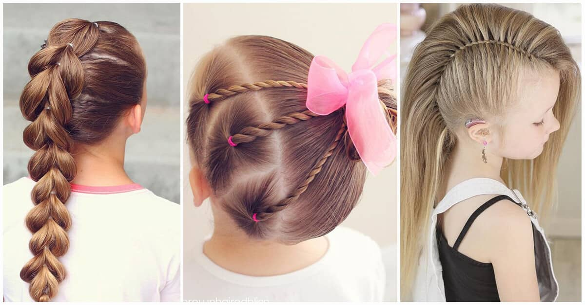 110 Awesome little girl hairstyles Collection for Everyone