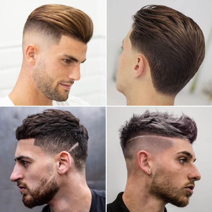Choose The Beautiful Men fade haircut Design