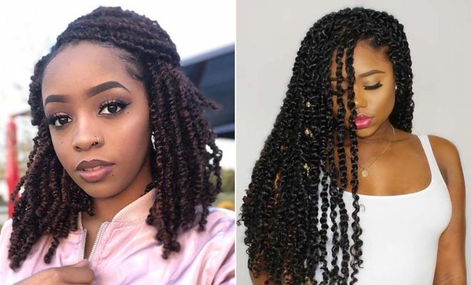 The Beautiful Passion Twist Hair Styles