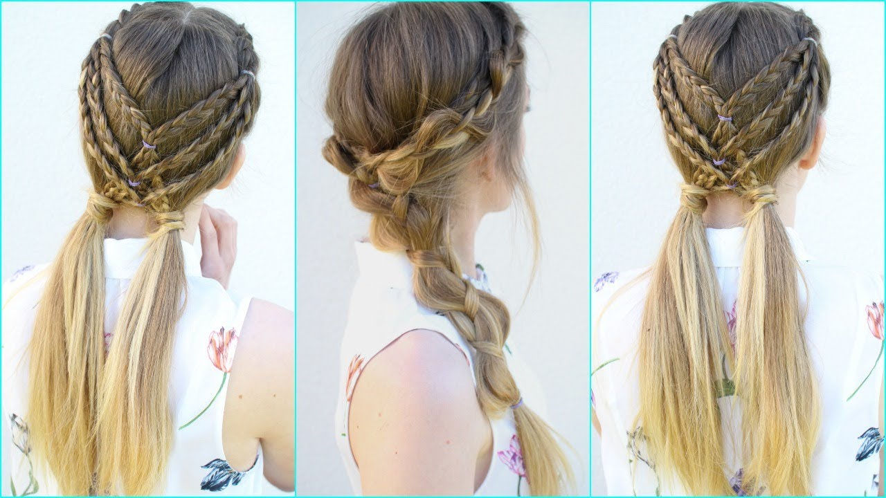 How to Do Braided Hairstyles For Little Girls