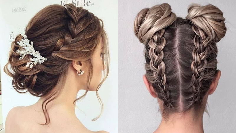 Cute Braided Hairstyles For Women