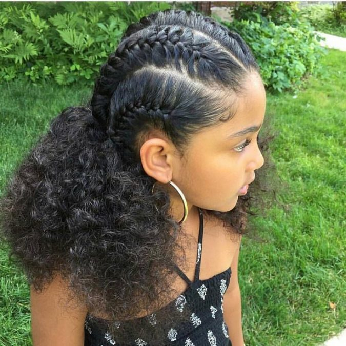 Variety Of Cute Hairstyles For Black Girls