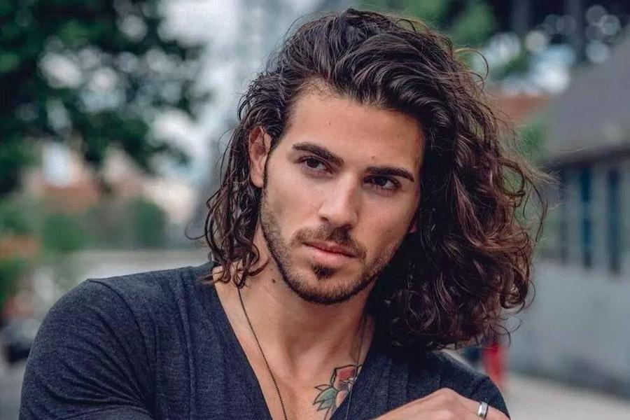 Long Hair Styles for Guys