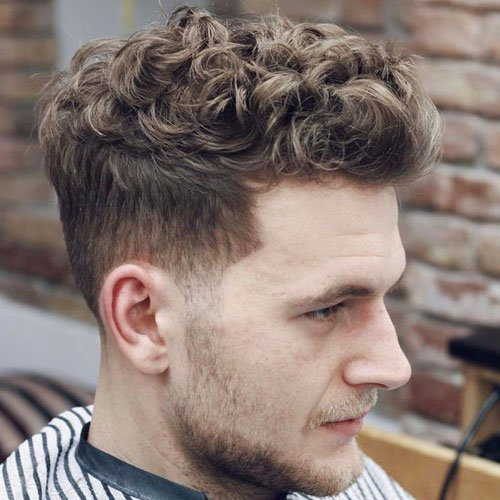 Achieving Haircuts For Curly Hair Men