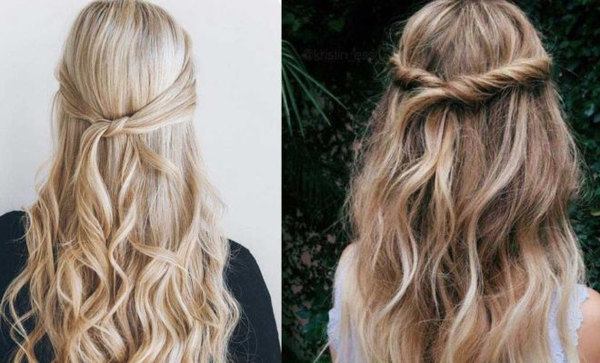 How to Achieve a Great Looking Half Up and Half Down Hairstyles