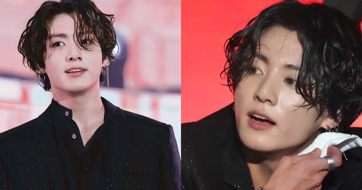 Good Look Jungkook With Long Hair