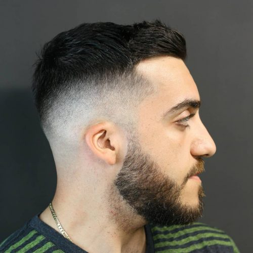 A Short Fade Haircut For a Stylish Look