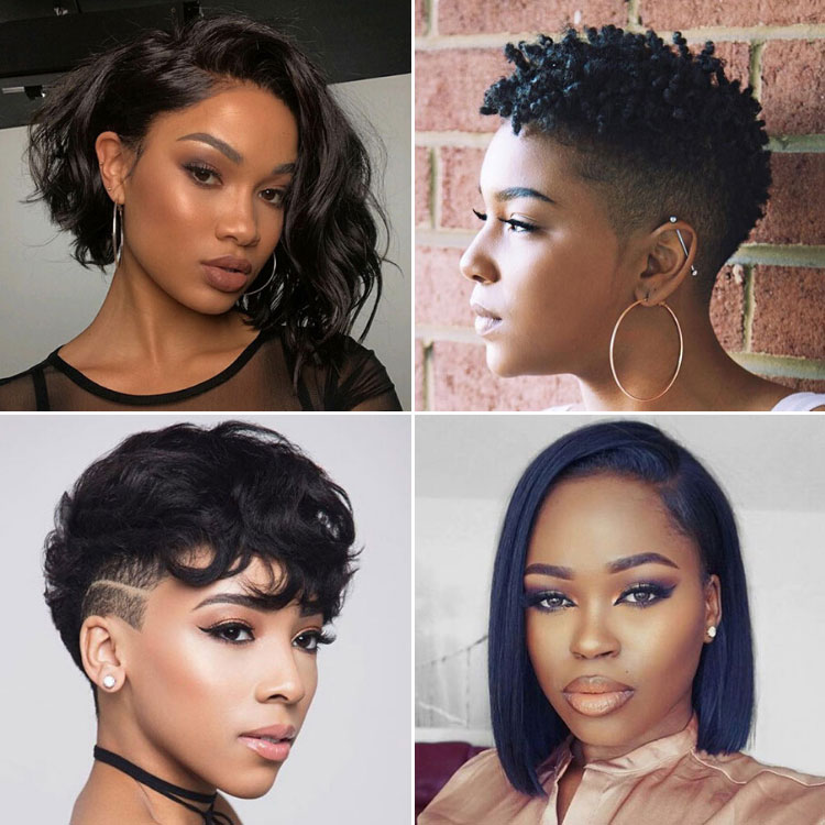 Short Hair Styles For Black Women – How to Style Your Own Hair