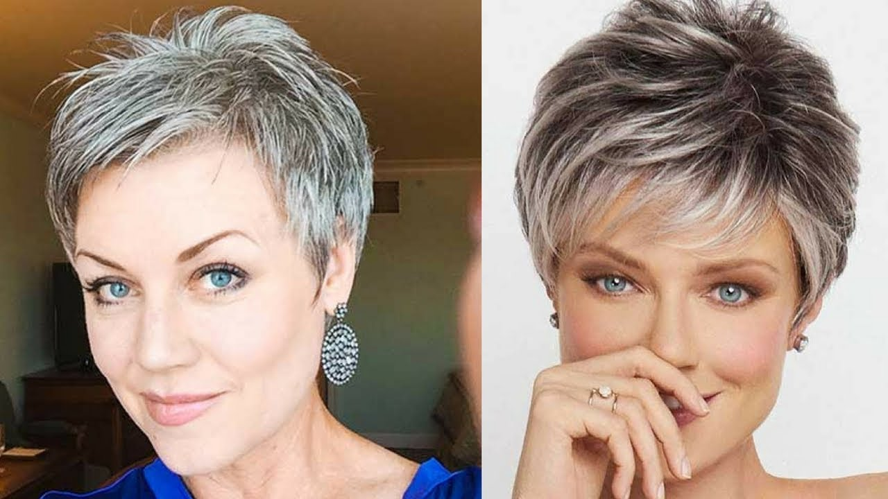 How To Choose Short Hairstyles For Older Women