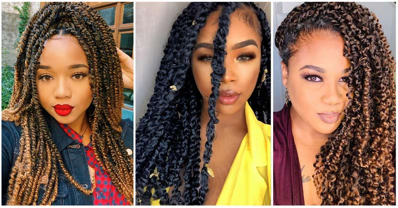 How to Wear Twist Hairstyles With Extensions