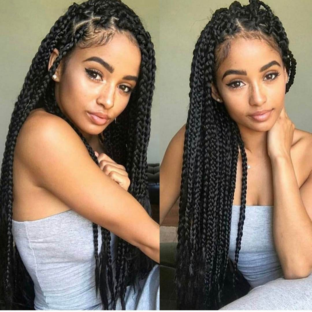 Great Braided Hairstyles For Black Women
