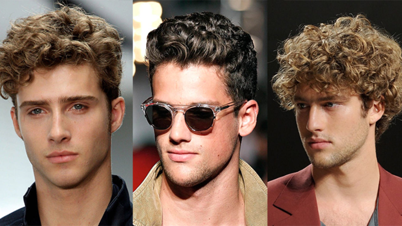 Guys With Curly Hair: How to Get a Simple Curly Looking Hair Style