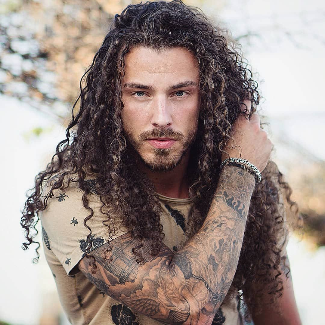 Some Best Hairstyles For Long Curly Hair Men