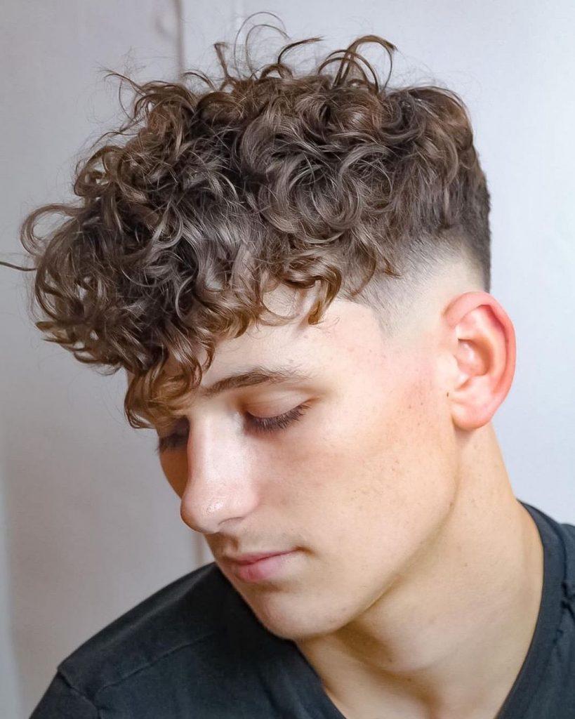 Choose The Latest Perm Hair For Men Human Hair Exim