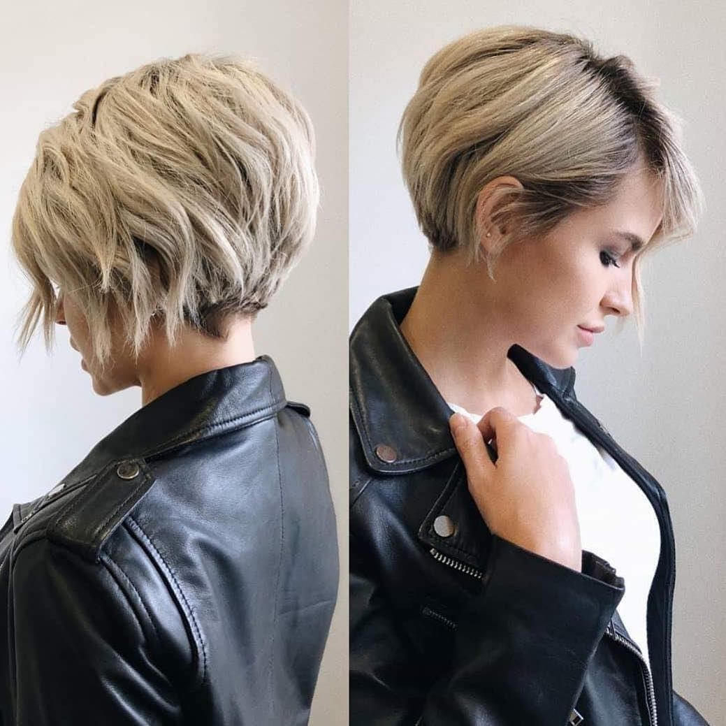 Short Hairstyles For Thick Hair Styles That Will Make Your Head Look Thicker