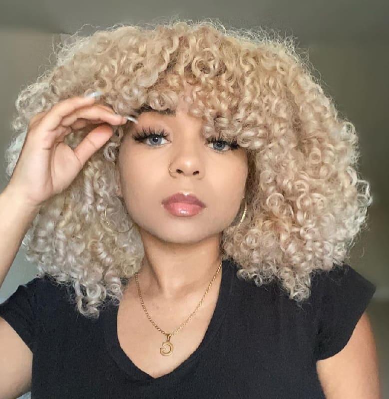 Creating Beautiful Blonde Curly Hair