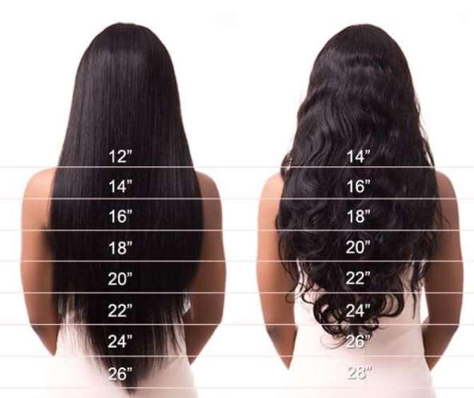 Different Hair Length For Women