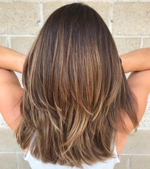 Beautiful Medium Length Layered Hair With These Easy Tips