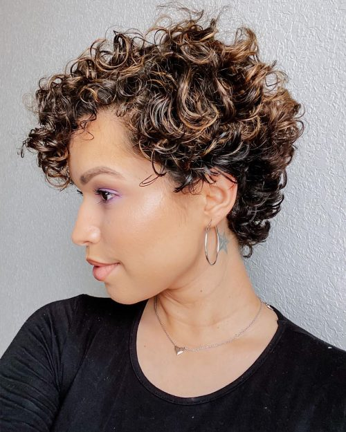 Get Cute Short Haircuts For Curly Hair