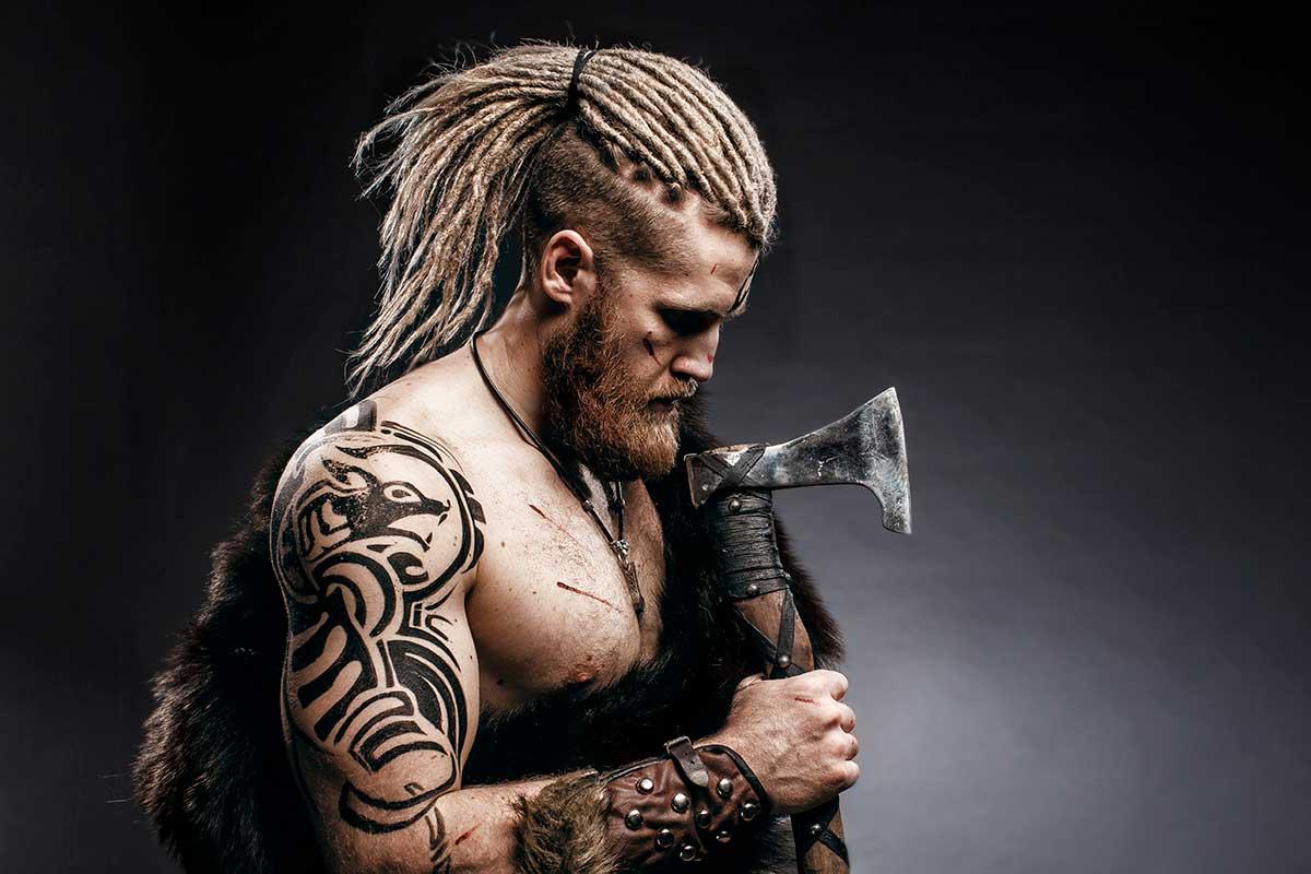 Viking Hairstyles For Men Human Hair Exim