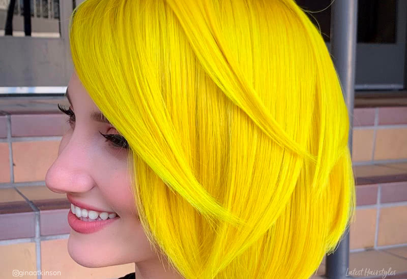 Hair Colors For People With Yellow Hair