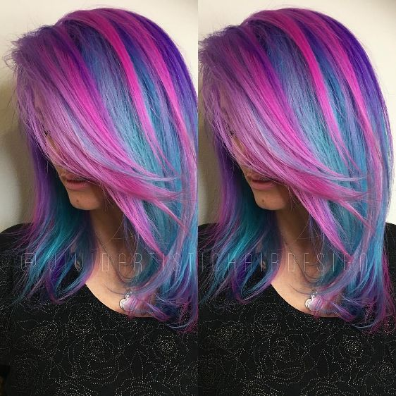 Blue And Purple Hair – Easy Away Style Tips