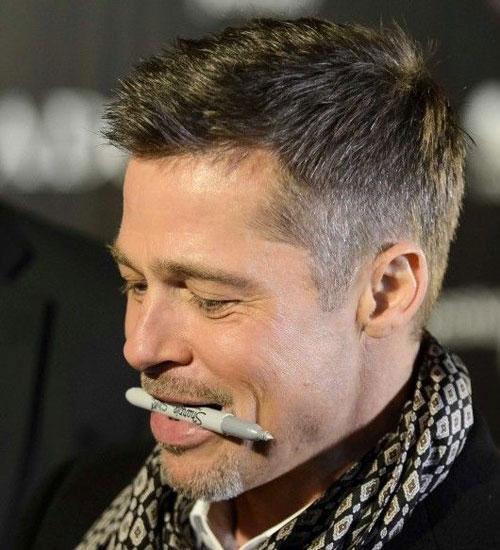 Tips On Getting A Brad Pitt Fury Haircut Human Hair Exim