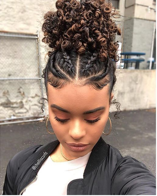 How To Wear A Cute Hairstyles For Curly Hair Human Hair Exim