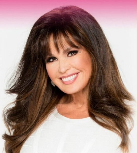 The Stylish Marie Osmond Blonde Hair