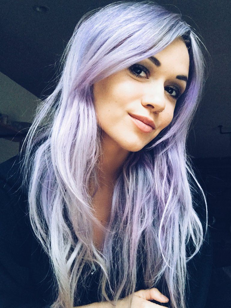 How To Wear The Pastel Purple Hair