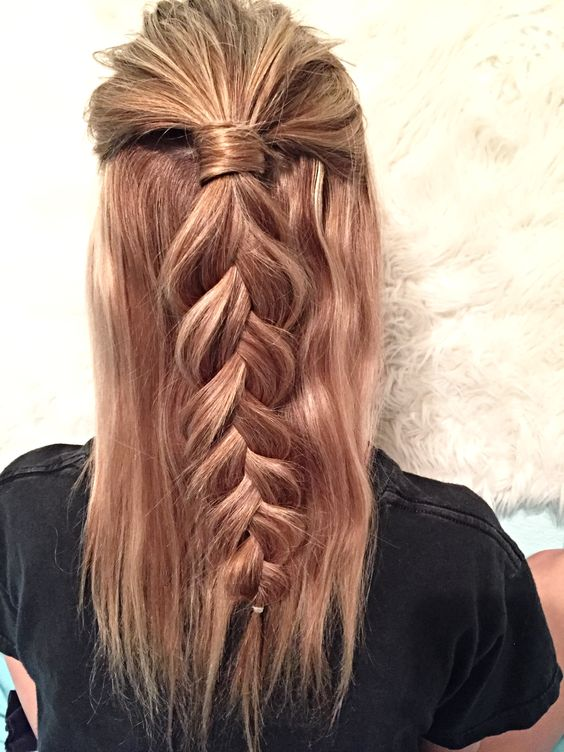 How To Style Plaited Hair