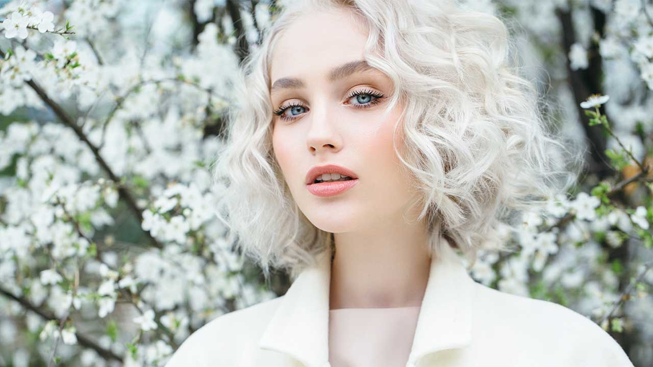 White Blonde Hair Design Ideas For Pretty White Brighter Hair